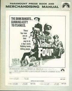 1968-The-Violent-Four-Gian-Maria-Volonte-Tomas-Milian-Italian-Crime-Pressbook