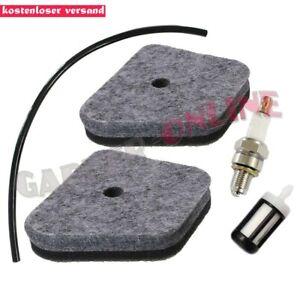 Zündkerze für Stihl KM130R FS90 FS90R FS100 FS100R 4180-120-1800 2x Luftfilter