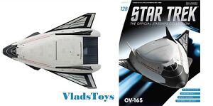 Star Trek Starships OV-165 Collection #128 Magazine /& Part