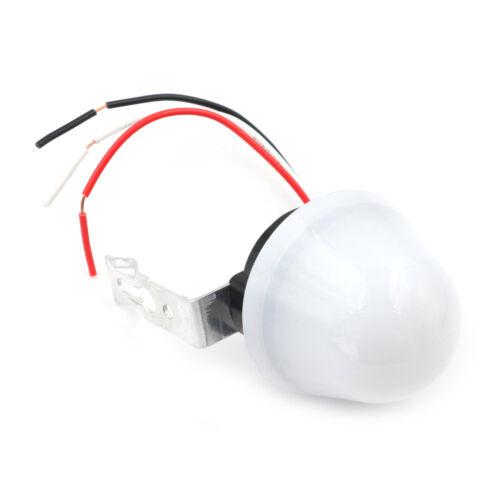 Sensibilità regolabile Auto On Off Interruttore luce per fotocellule DC AC 220