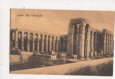 Luxor The Colonnades Egypt Vintage Postcard 112b