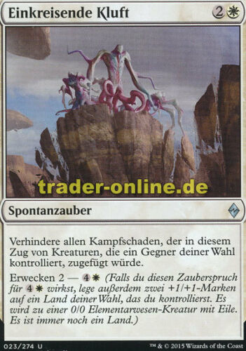 2x Einkreisende Kluft Encircling Fissure Battle for Zendikar Magic