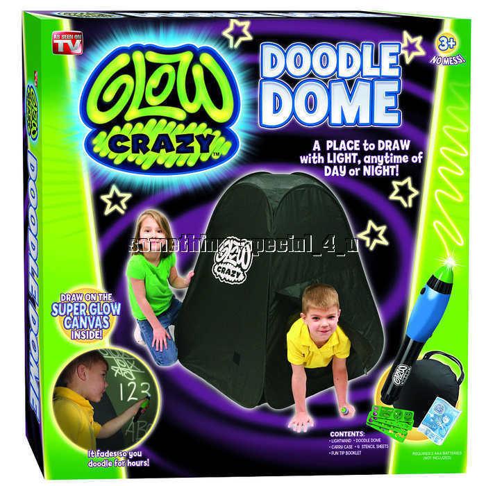 New Glåg Crazy Doodle Dome Tent w   Glåg in the Dark Wand