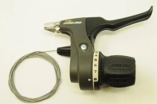 SRAM 3.0 série 8 vitesse Gripshift avec Droit Levier De Frein Vélo Gear Shifter Nos