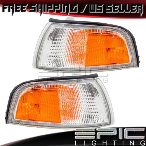 1997-2001 MITSUBISHI MIRAGE Sedan Corner Turn Signal Lights Left Right Pair