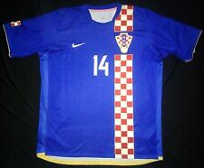 Croatia 06-08 Luca Modric Away Shirt Real Madrid Jersey Trikot Spain Maglia