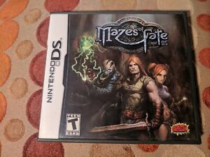 MAZES-OF-FATE-Nintendo-DS-3DS-Very-Rare-FPS-RPG-Dungeon-Crawler-by-Graffiti-En