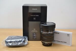 Mint-Olympus-7-14mm-M-ZUIKO-Digital-ED-1-2-8-Pro-Lens-F-2-8-6-Month-Warranty