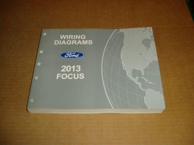 2013 Ford Focus Wiring Diagram Service Shop Dealer Repair