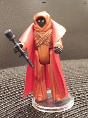 Vintage Star Wars Replacement Cape /& Blaster For Jawa