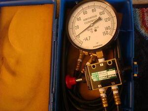 Griswold Controls Marsh HVAC Leak Detector Flow Control Model#- 3429 Excellent