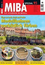 MIBA Spezial 95 - Modellbahnen vorbildlich färben
