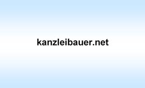 .net Domain Verkauf - www.kanzleibauer.net - mit Rechnung