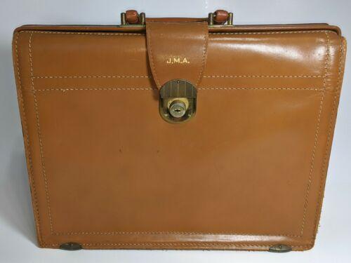 Vintage REXBILT Topgrain Cowhide Leather Briefcase