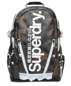 Image is loading New-Mens-Superdry-Mono-Tarp-Backpack-Camo 03312ecf3878f