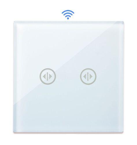 Innenleben WLAN Rollladenschalter Smart WiFi Glas Touch Point Weiß PWMR-11