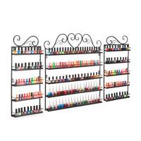 Nail Polish Display Metal Wire Organiser Wall Shelf -up To 120 Bottles,free Ship