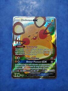 Carte Pokémon Dedenne GX 195a/214 Promo SL10 Alliance Infaillible FR NEUF