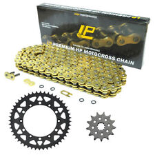 compatible with 2006-on Kawasaki KX250F Renthal Grooved Front /& Twinring Rear Sprocket /& R3 O-Ring Chain Kit 13//50 GREEN
