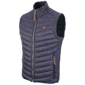 a1d3364a1c6 Camel Active Men's Vest Quilted Navy Blue 8R23 460710 43 | eBay