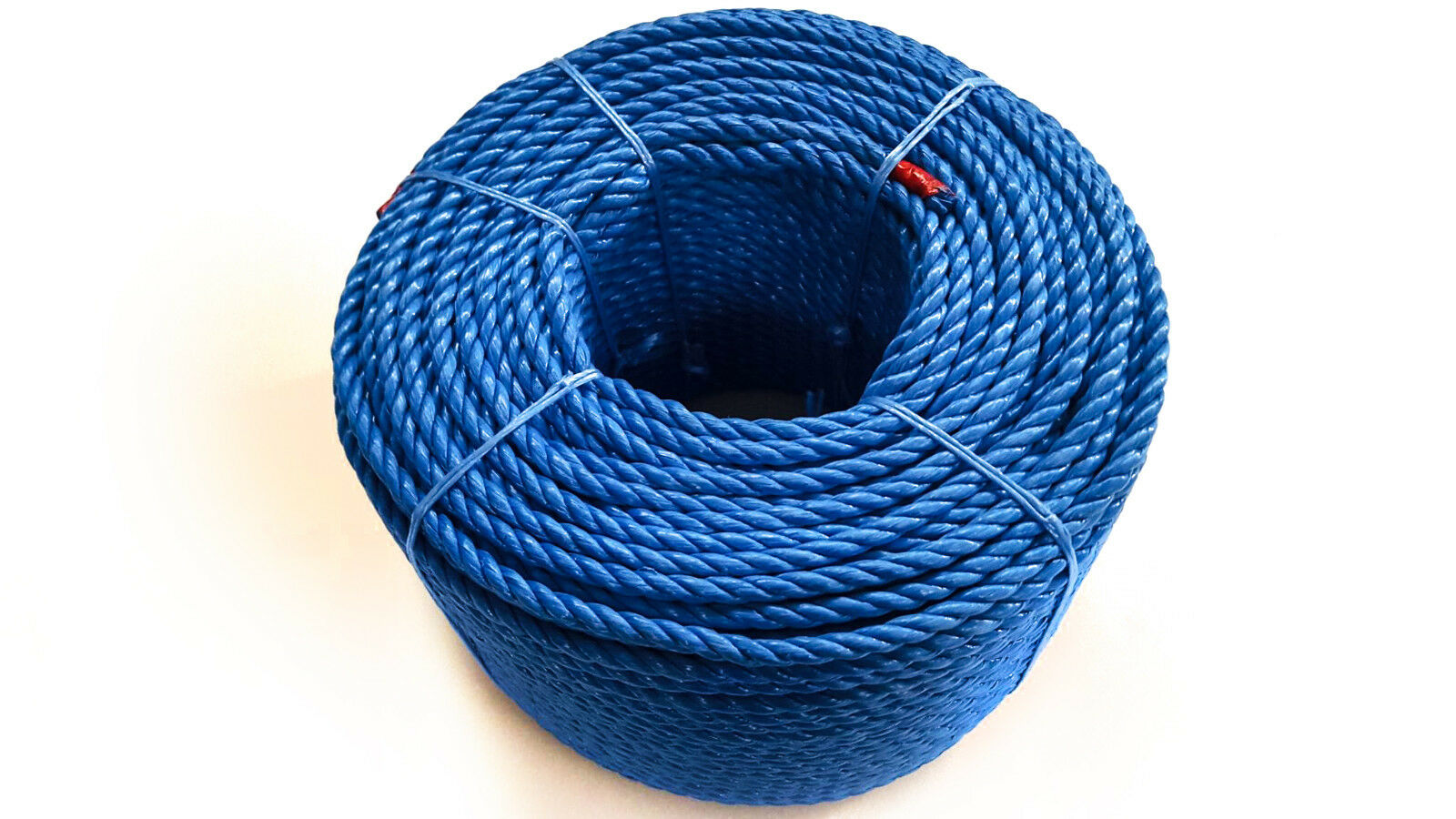 bluee Polypropylene Rope Coils, 12mm Polyrope, Sailing, Agriculture, Camping,