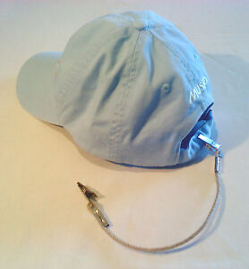 HAT-CLIP-CAP-RETAINER-Clip-to-Shirt-Jacket-Sailing-Jogging-A1-GIFT