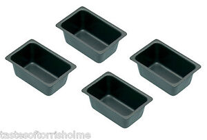 Kitchen-Craft-Pack-Of-4-Non-Stick-Mini-039-Penny-Loaf-039-Bread-Baking-Tins