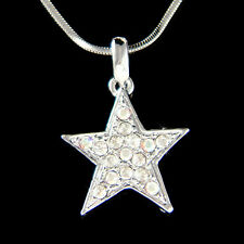 w Swarovski Crystal ~Wishing Wish Star~ Petite Charm Pendant  Astronomy Necklace