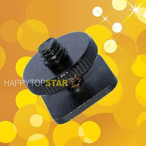 CAMERA-1-4-034-inch-Tripod-Screw-to-Flash-HotShoe-Mount-Aluminum-Adapter-Light-Stand