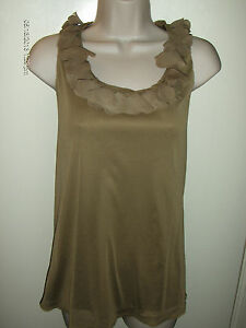 Taupe Blouse Short Sleeve 51