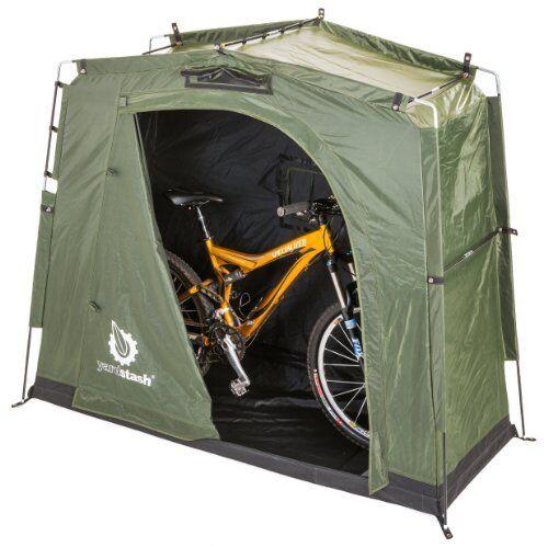 The YardStash III: Space Saving Outdoor Bike Storage, Garden Storage and Pool St