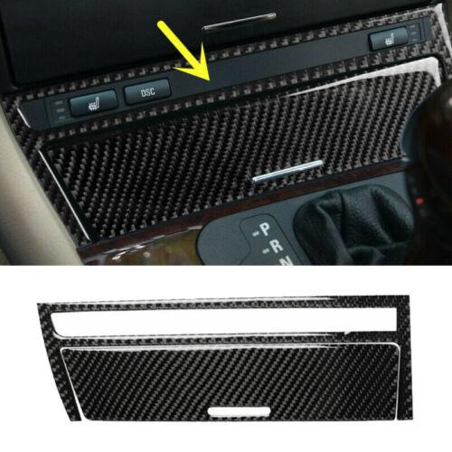 2 X Dekor Central Interieurleisten Für BMW Old 3 Series E46 Carbon Struktur Teil