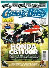 Classic Bike November 2008 CB1100R Matchless R75/5 A50 A65 T110 Enfield James