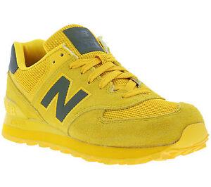 tenis new balance amarillos