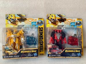 Transformers Energon Igniters Hasbro Lot Bumblebee And Shatter