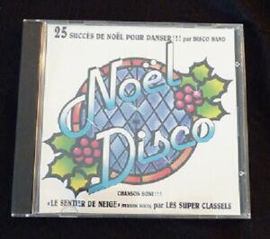 Audio-CD-Noel-Disco-25-Succes-de-Noel-Disco-Band-Merite-Canada-Records