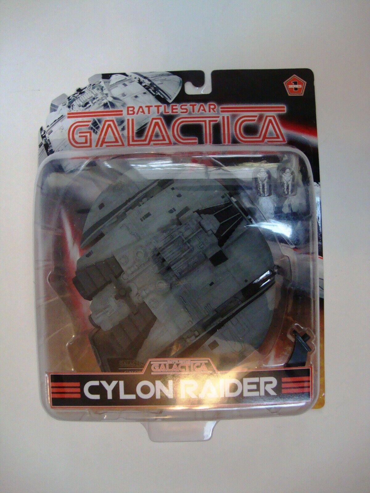 Jodyride Studios Battlestjärna Galactica 2005 serie 3 Cylon Raider Figur förseglad