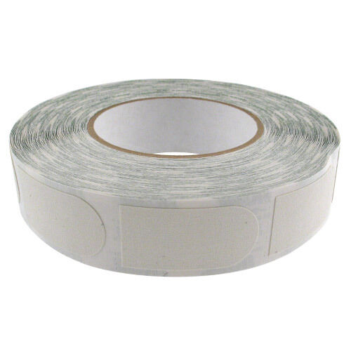 Storm Thumb Tape 1  White Textured 500-Piece Roll