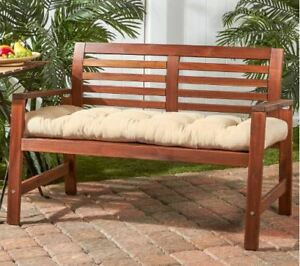 Details About Bench Outdoor Swing Cushion Porch Glider 51 In Chair Seat Padding Patio Indoor