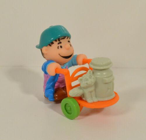 "1989 Linus Van Pelt 2.75/"" McDonald/'s Action Figure #4 Peanuts Charlie Brown"