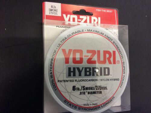 YO-ZURI Hybrid Fishing Line 275yrd spools