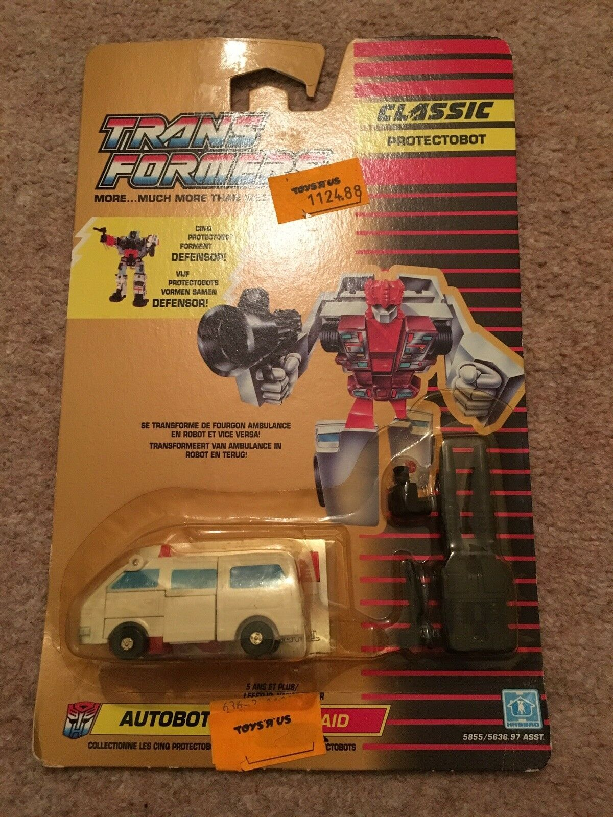 Transformers Classic Protectobot First Aid Retro Figure Figure Figure 1990 French Dutch 1f5906