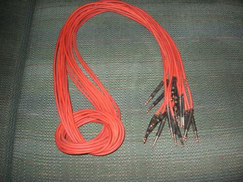 TT Bantom Cables Nickel plated TEN 4 Foot