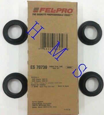 Fel-pro ES70739 Spark Plug Tube Seals For 1987-2001 Toyota 2.0L 2.2L L4