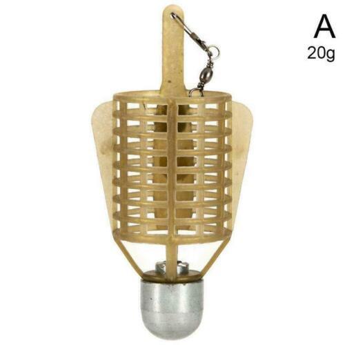 Karpfenfischen Feeder Lure Cage Feeder Fishing Tackle Cage Bait T8V8