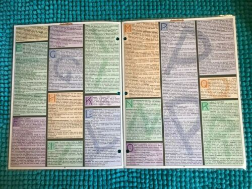 SHIP QUICK STUDY ACADEMIC ~LAMINATED ACADEMIC OUTLINES ~ CHOOSE 1 or ALL ~ 1