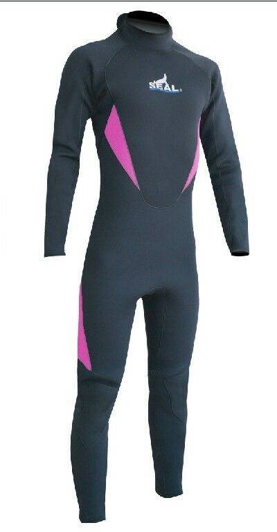 SEAL SKIN BRAND  LADIES 5 3mm COLD WATER WINTER WETSUITS