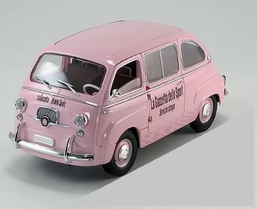 Mini Me UNIQUE REPLICAS 1 18 Car Die Cast Fiat 600d Multipla art.74308