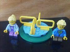 Minifigures LEGO CITY: minifigs 2 ENFANTS + TOURNIQUET  - Lot COMME NEUF