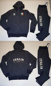 48ee2b179e1df6 Caricamento dell'immagine in corso 3504-FIPAV-ERREA -TUTA-ITALIA-PALLAVOLO-UNISEX-ITALY-